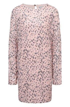Женское платье с пайетками IN THE MOOD FOR LOVE розового цвета, арт. ALEXANDRA NEW LE0 DRESS | Фото 1
