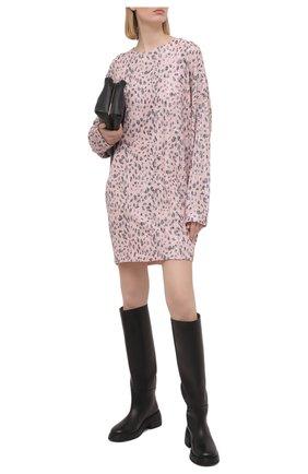 Женское платье с пайетками IN THE MOOD FOR LOVE розового цвета, арт. ALEXANDRA NEW LE0 DRESS | Фото 2