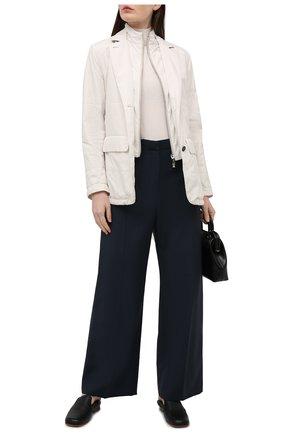 Женская куртка KITON бежевого цвета, арт. DW0859MV07T61 | Фото 2
