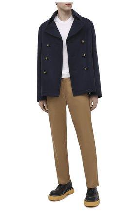 Мужской шерстяное пальто LANVIN темно-синего цвета, арт. RM-0U0011-4808-P21   Фото 2