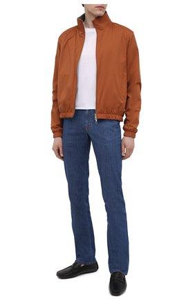 Мужские кожаные мокасины ALDO BRUE черного цвета, арт. AB0005.VP.P.P | Фото 2