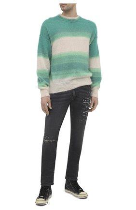 Мужские джинсы DIESEL темно-серого цвета, арт. A00879/069SX | Фото 2