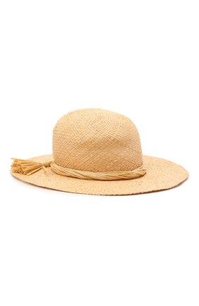 Детская соломенная шляпа IL GUFO бежевого цвета, арт. P21E0306EA301 | Фото 1