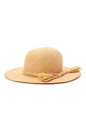 Детская соломенная шляпа IL GUFO бежевого цвета, арт. P21E0306EA301 | Фото 2