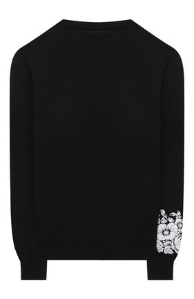 Детский хлопковый пуловер N21 черного цвета, арт. N21039/N0068/N21K42M | Фото 2