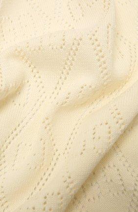 Детского хлопковое одеяло GUCCI бежевого цвета, арт. 643511/3K111 | Фото 2