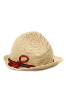 Детская шляпа GUCCI бежевого цвета, арт. 642867/4HADL | Фото 1