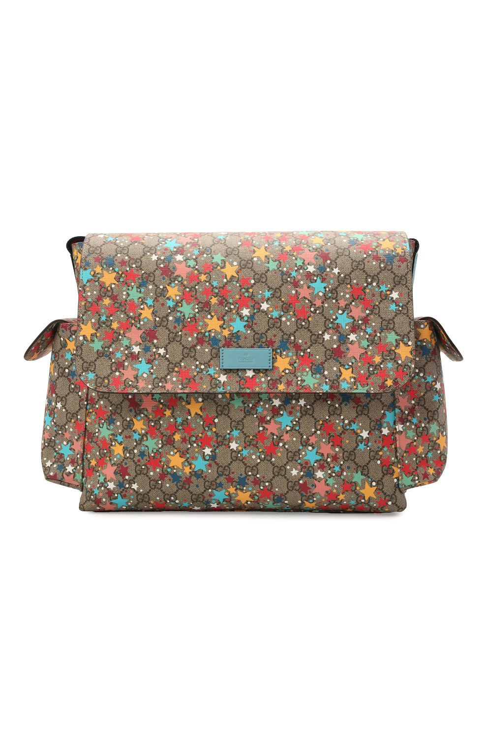 Детская сумка GUCCI разноцветного цвета, арт. 211131/2R6CG | Фото 1 (Материал: Текстиль, Экокожа)