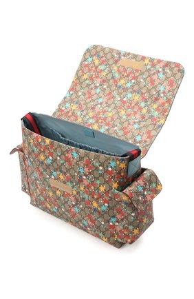 Детская сумка GUCCI разноцветного цвета, арт. 211131/2R6CG | Фото 3 (Материал: Текстиль, Экокожа)