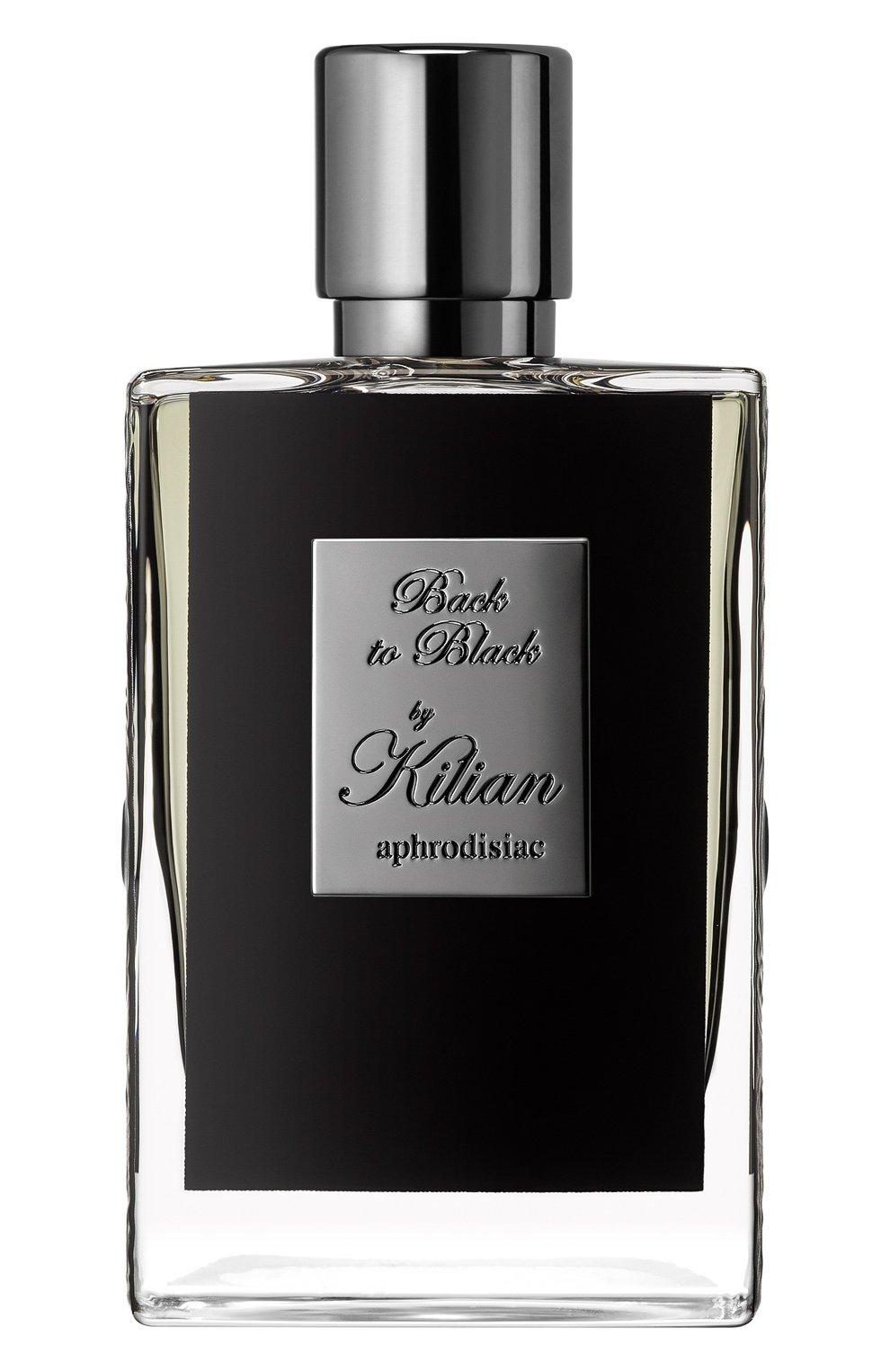 Парфюмерная вода back to black KILIAN бесцветного цвета, арт. 3700550218326   Фото 1 (Ограничения доставки: flammable)
