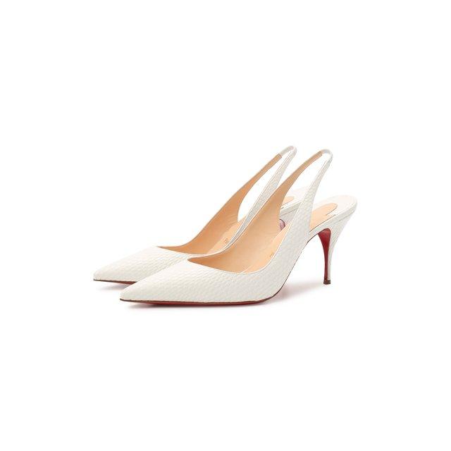 Кожаные туфли Clare Sling 80 Christian Louboutin