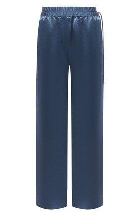 Женские брюки ACNE STUDIOS синего цвета, арт. AK0366 | Фото 1