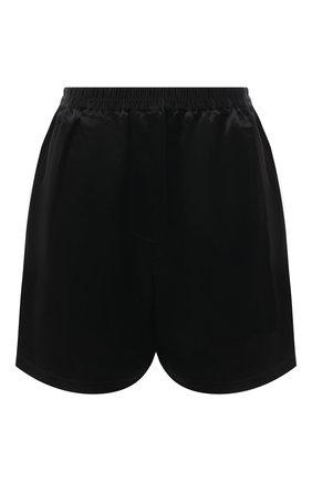 Женские шорты ACNE STUDIOS черного цвета, арт. AE0039 | Фото 1