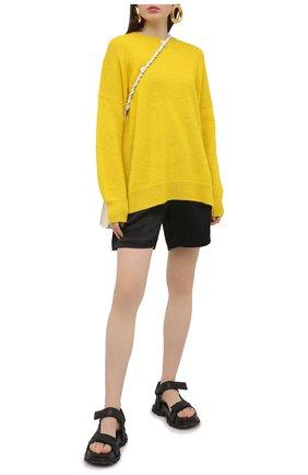Женские шорты ACNE STUDIOS черного цвета, арт. AE0039 | Фото 2