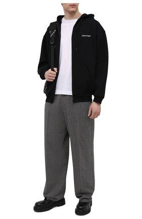 Мужской хлопковая толстовка BALENCIAGA черного цвета, арт. 641659/TIV55 | Фото 2