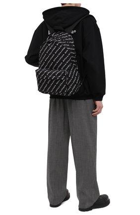 Мужской текстильный рюкзак wheel BALENCIAGA черного цвета, арт. 507460/H856X   Фото 2