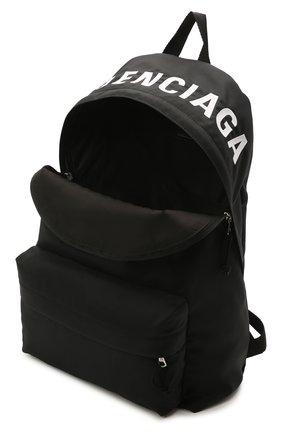 Мужской текстильный рюкзак wheel BALENCIAGA черного цвета, арт. 507460/H853X | Фото 4 (Материал: Текстиль)