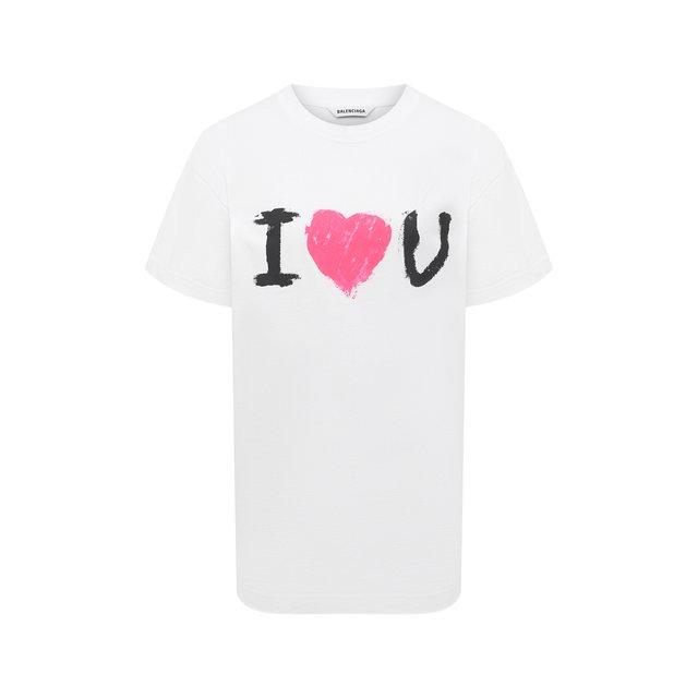 Хлопковая футболка Balenciaga
