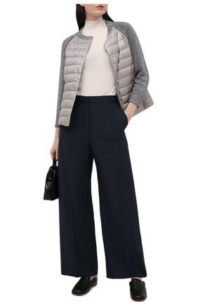Женская пуховая куртка HERNO серого цвета, арт. MP0007D/12017 | Фото 2