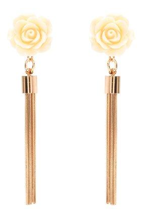 Женские серьги ANTON HEUNIS золотого цвета, арт. RRS3.37   Фото 1