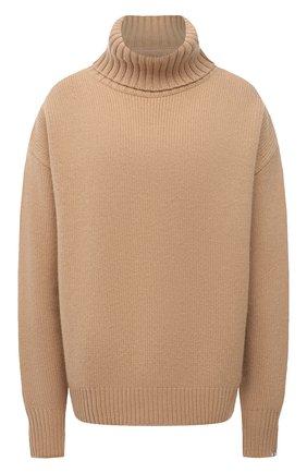 Женский кашемировый свитер EXTREME CASHMERE бежевого цвета, арт. 020/0VERSIZE XTRA | Фото 1