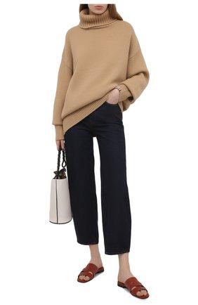 Женский кашемировый свитер EXTREME CASHMERE бежевого цвета, арт. 020/0VERSIZE XTRA | Фото 2