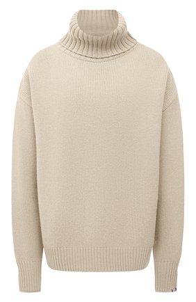 Женский кашемировый свитер EXTREME CASHMERE светло-бежевого цвета, арт. 020/0VERSIZE XTRA | Фото 1