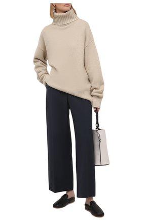 Женский кашемировый свитер EXTREME CASHMERE светло-бежевого цвета, арт. 020/0VERSIZE XTRA | Фото 2