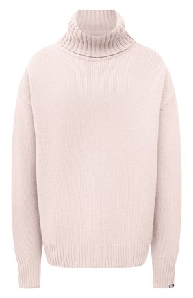 Женский кашемировый свитер EXTREME CASHMERE светло-розового цвета, арт. 020/0VERSIZE XTRA | Фото 1