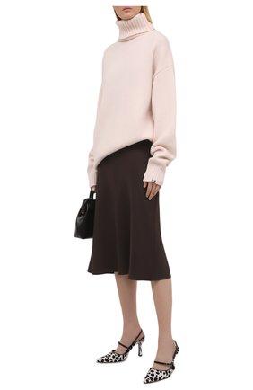 Женский кашемировый свитер EXTREME CASHMERE светло-розового цвета, арт. 020/0VERSIZE XTRA | Фото 2