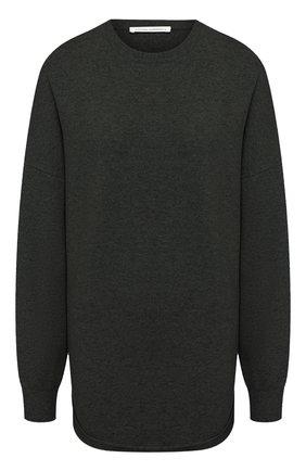 Женский кашемировый свитер EXTREME CASHMERE зеленого цвета, арт. 053/CREW H0P   Фото 1