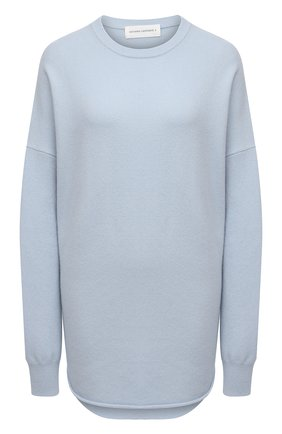 Женский кашемировый свитер EXTREME CASHMERE голубого цвета, арт. 053/CREW H0P | Фото 1