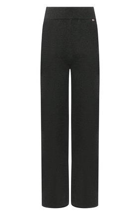 Женские кашемировые брюки EXTREME CASHMERE зеленого цвета, арт. 104/TR0USERS | Фото 1