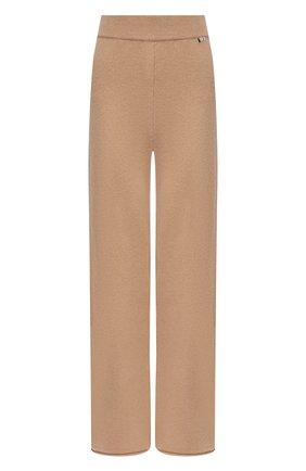 Женские кашемировые брюки EXTREME CASHMERE бежевого цвета, арт. 104/TR0USERS | Фото 1