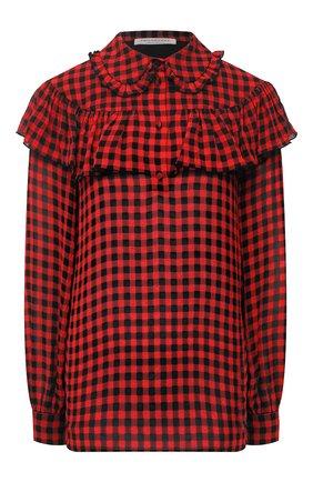 Женская блузка PHILOSOPHY DI LORENZO SERAFINI красного цвета, арт. A0220/729 | Фото 1