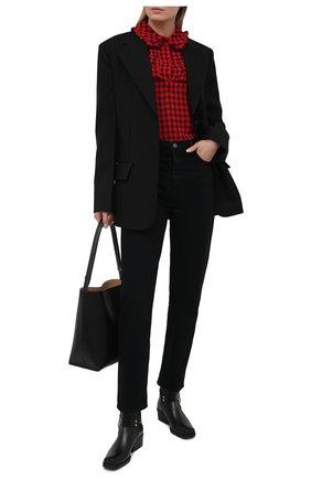 Женская блузка PHILOSOPHY DI LORENZO SERAFINI красного цвета, арт. A0220/729 | Фото 2