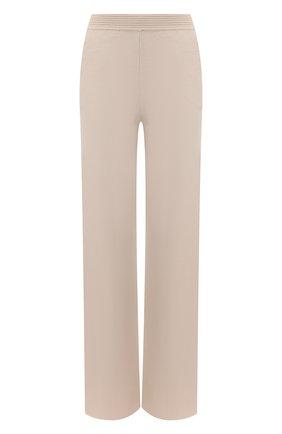 Женские кашемировые брюки LORO PIANA светло-бежевого цвета, арт. FAL5052 | Фото 1