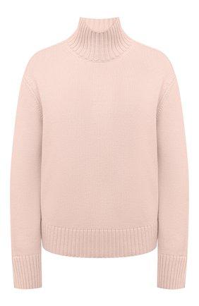 Женский кашемировый свитер LORO PIANA светло-розового цвета, арт. FAL5048 | Фото 1