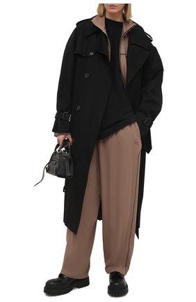 Женские брюки BALENCIAGA бежевого цвета, арт. 643052/TF002 | Фото 2
