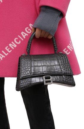 Женская сумка hourglass s BALENCIAGA серого цвета, арт. 593546/1LR6Y | Фото 2