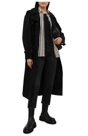 Женское боди MM6 черного цвета, арт. S62NA0044/S20518 | Фото 2
