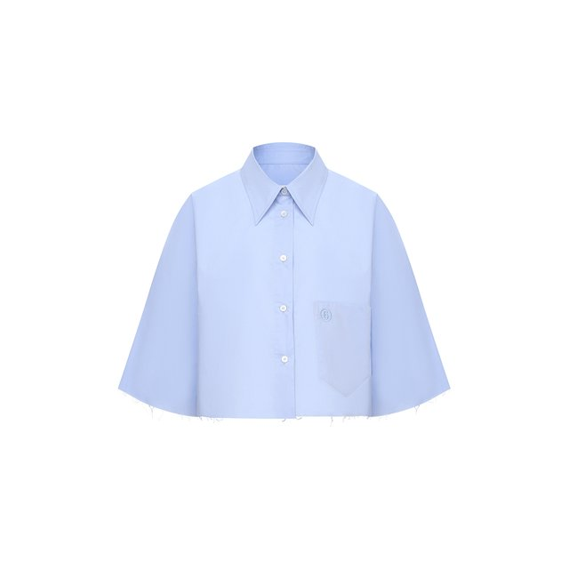 Хлопковая рубашка Mm6
