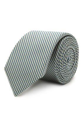 Мужской шелковый галстук BOSS разноцветного цвета, арт. 50452179 | Фото 1