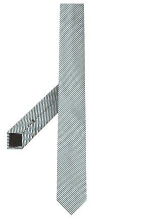 Мужской шелковый галстук BOSS разноцветного цвета, арт. 50452179 | Фото 2