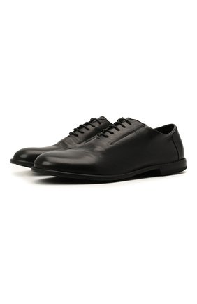 Мужские кожаные оксфорды PANTANETTI черного цвета, арт. 14433E/GUELF0   Фото 1