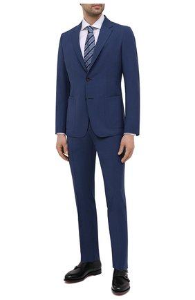 Мужской шерстяной костюм Z ZEGNA синего цвета, арт. 924726/2X7YGX   Фото 1