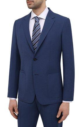 Мужской шерстяной костюм Z ZEGNA синего цвета, арт. 924726/2X7YGX   Фото 2