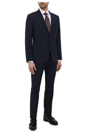 Мужской шерстяной костюм Z ZEGNA темно-синего цвета, арт. 924737/2X7YGX | Фото 1