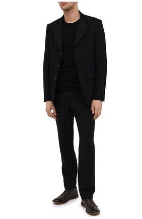 Мужские кожаные дерби MOMA темно-коричневого цвета, арт. 2AS024-S0 | Фото 2
