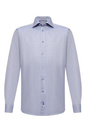 Мужская хлопковая сорочка ETON синего цвета, арт. 1000 01280   Фото 1